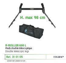 RIVE görgő 310105 R-Roller double telescopic 600 L