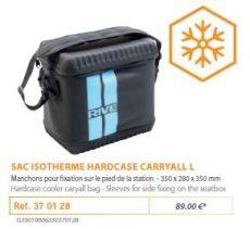 RIVE hűtőtáska 370128 Sac Isotherme Hardcase Carryall L
