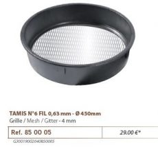 RIVE rosta  850005 Tamis Nr. 6 - Maille: 4 mm