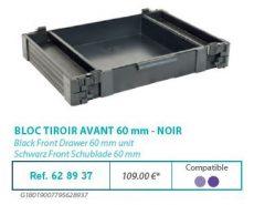 RIVE modul 628937 Bloc tiroir avant 60 F2 Noir