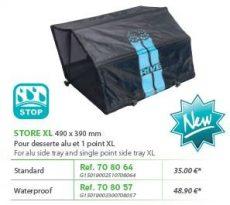RIVE árnyékoló XL 490 x 390 mm Aqua nem esőálló; esőálló