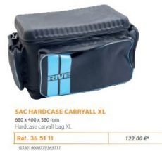 RIVE táska 365111 Sac Hard Case Carryall XL Aqua