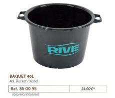 RIVE dézsa 850095 Baquet 40L