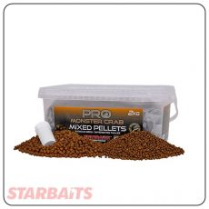 Starbaits Probiotic Monstercrab Pellets MIX - 2kg (09482)