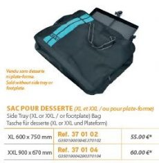 RIVE táska Sac desserte Aqua XL; XXL