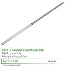 RIVE adapter 112005 OPEN Relais grande tige parapluie D36