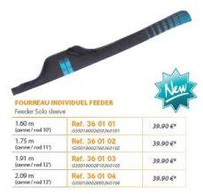 RIVE botzsák 360101 Fourreau Individuel Feeder 10' - 11' - 12' - 13'