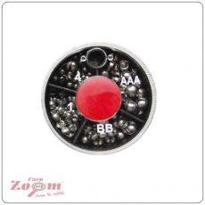 Carp Zoom Dinsmores MINI 4 fakkos ólomszett (E-D-105)