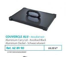 RIVE modul 628990 Couvercle F2 Noir