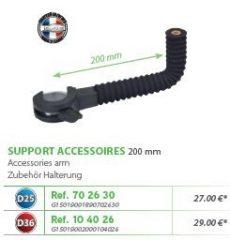 RIVE adapter Support accessoires 200mm D25; D36