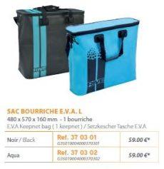 RIVE száktartó táska Sac bourriche E.V.A. L Noir; Aqua