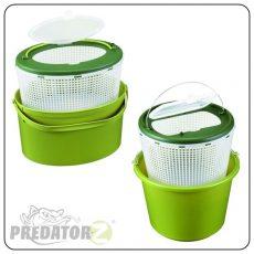 Predator-Z Élőcsalitartó vödör - 7 vagy 12 literes CZ