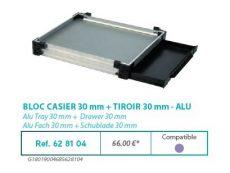 RIVE modul 628104 Bloc casier 30 + tiroir 30 F2 Alu