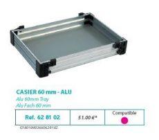 RIVE modul 628102 Casier 60 F2 Alu