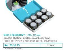 RIVE előketartó 703275 Boîte Feeder N°1