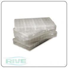 RIVE Boîte Plastique - Transparente / műanyag tároló doboz (703272)