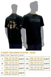RIVE póló Black T Shirt Specimen Custom