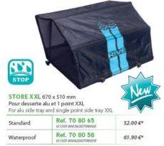RIVE árnyékoló 708058 Store Waterproof Pour Desserte Alu XXL 670 x 510 mm Aqua