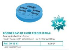 RIVE feeder előketartó 701261 Bobine a Bas de Ligne (1X4)