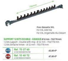 RIVE topset tartók Support 12 kits double a bague 32mm D25; D36