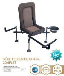 Rive 145038 Siege Feeder Club Noir D25 Complet