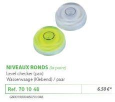 RIVE vízszintezők 701048 Niveau Rond