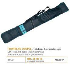 RIVE botzsák 350116 Fourreau souple 2,05 m (2 compartiments) Aqua