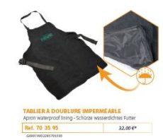 RIVE kötény 703595 Tablier a Doublure Imperméable