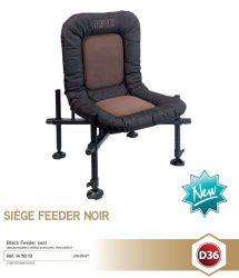 RIVE 145010 Siege Feeder Noir D36