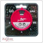 Carp Zoom Dinsmores 7 fakkos ólomszett (E-D-107)