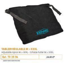 RIVE kötény 703596 Tablier Reglable M-XXL