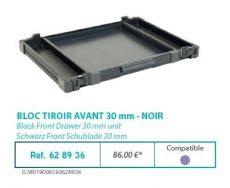 RIVE modul 628936 Bloc tiroir avant 30 F2 Noir