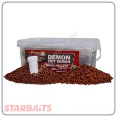 Starbaits Pellets DEMON HOT MIX - 2kg (09180)