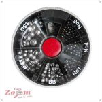 Carp Zoom Dinsmores 6 fakkos ólomszett (E-D-106)