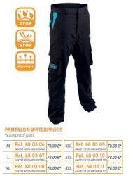 RIVE vízálló nadrág 680306 Pantalon Waterproof