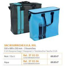 RIVE száktartó táska  Sac bourriche E.V.A. XXL-Noir; Aqua
