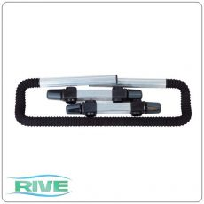 RIVE Barre repose canne striée (deluxe bottartó) - D36 / D25 104057; 702228