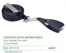 RIVE zsinórvágó csipesz 811015 Coupe fil avec corde inox