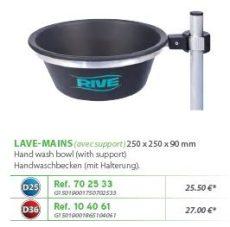 RIVE kézmosó Lave-mains D25; D36