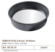 RIVE rosta 850010 Tamis Nr. 10 - Maille: 2,2 mm