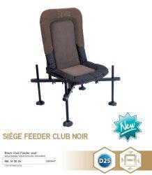 RIVE 145034 Siege Feeder Club Noir D25